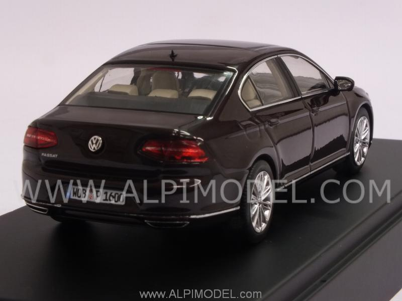 herpa volkswagen passat limousine 2014 bordeaux vw promo 1 43 scale model. Black Bedroom Furniture Sets. Home Design Ideas