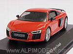 Audi R8 V10 Plus Coupe 2015 (Dynamite Red) Audi Promo by HERPA.