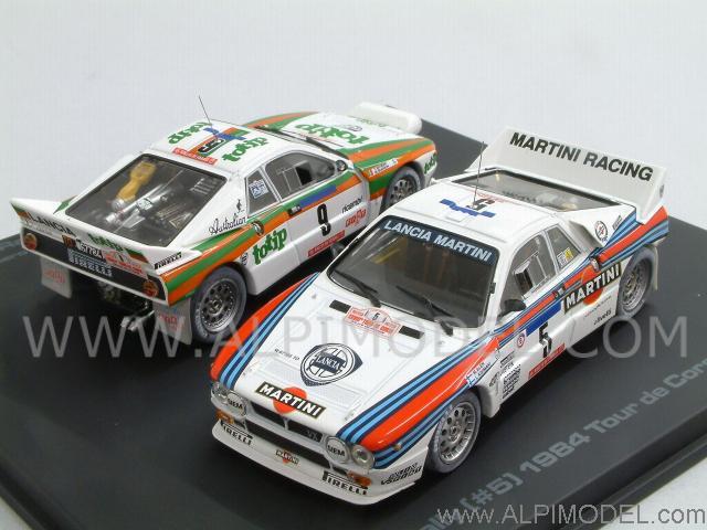 hpi-racing lancia 037 rally tour de corse 1984 memorial set (2 cars