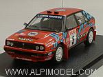 Lancia Delta HF Integrale 16V #5 Rally Sanremo 1989 Auriol - Occelli by HPI RACING.