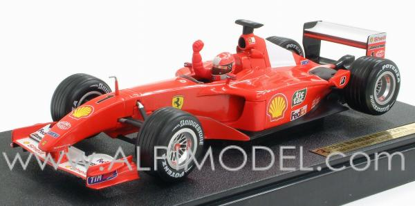 World Of Wheels >> hot-wheels Ferrari F2001 Michael Schumacher World Champion ...