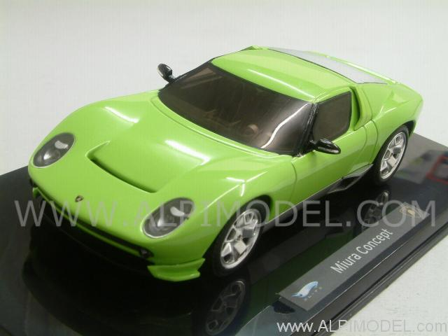 Hot Wheels Lamborghini Miura Concept Green 1 43 Scale Model