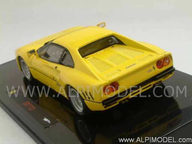 Hot Wheels Ferrari 288 Gto 1984 Yellow 1 43 Scale Model
