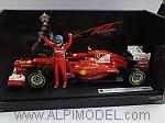 Ferrari F2012 Winner GP Malaysia 2012 Fernando Alonso by HOT WHEELS.