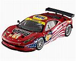 Ferrari 458 Italia GT2 #.61 Le Mans 2012 Kauffman - Wickers - Aguas by HOT WHEELS.