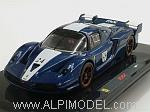 Ferrari FXX #24 (Tour de France Blue) by HOT WHEELS.