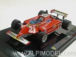 Ferrari 126 CK 1981 Gilles Villeneuve by HOT WHEELS.