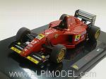 Ferrari 412 T2 1995 Jean Alesi by HOT WHEELS.