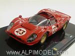 Ferrari 330 P4 #23 Daytona 1967 by HOT WHEELS.