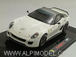 Ferrari 599XX #2 (White) by HOT WHEELS.