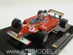 Ferrari 126 CK GP Monaco 1981 Gilles Villeneuve by HOT WHEELS.