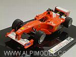 Ferrari  F1-2000 GP Japan 2000 World Champion Michael Schumacher by HOT WHEELS.