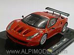 Ferrari 458 Italia GT2 2011 (Red) by HOT WHEELS.