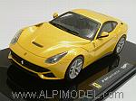 Ferrari F12 Berlinetta 2012 ( Yellow) by HOT WHEELS