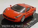 Ferrari 458 Italia (Red Scuderia) by HOT WHEELS.