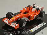 Ferrari F2004 GP Germany 2004 Michael Schumacher by HOT WHEELS.