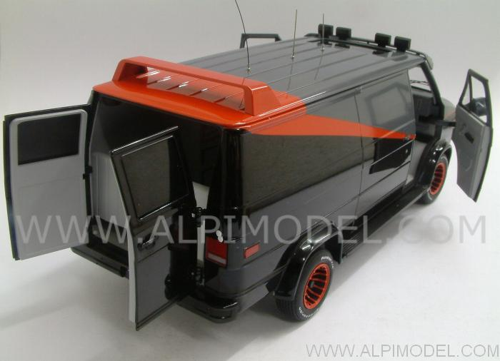 hot wheels gmc panel van a team classic tv series 1 18. Black Bedroom Furniture Sets. Home Design Ideas