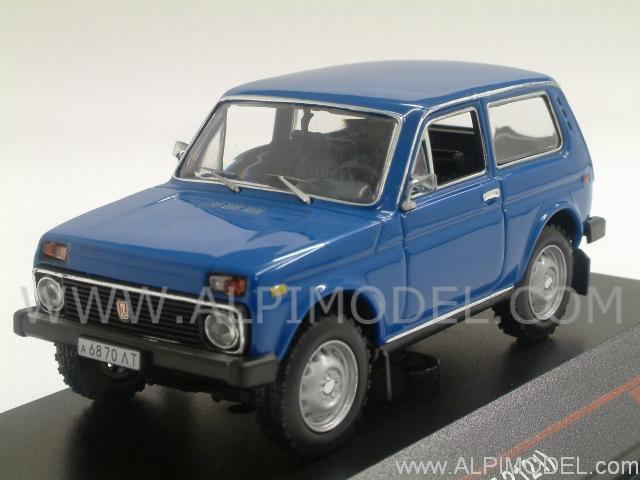 Ist models Lada Niva VAZ 2121 1981 Blue 143 Scale Model