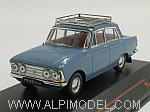 Moskwitch 408E 1966 (Blue) by IST MODELS