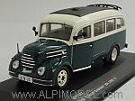Robur Garant 30k VWB 18 Bus 1956 (Green/Cream) by IST MODELS