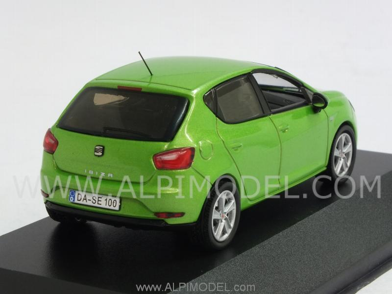 ixo models seat ibiza 5 doors lime green 1 43 scale model. Black Bedroom Furniture Sets. Home Design Ideas