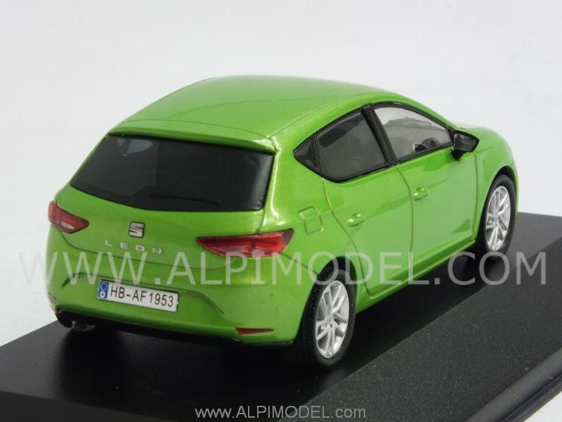 ixo models seat leon lime green 1 43 scale model. Black Bedroom Furniture Sets. Home Design Ideas
