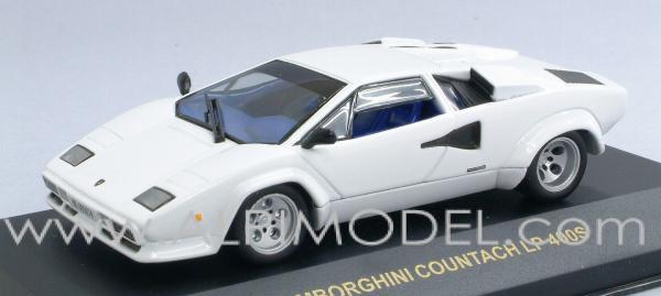 Ixo Models Lamborghini Countach Lp 400s White 1 43 Scale Model