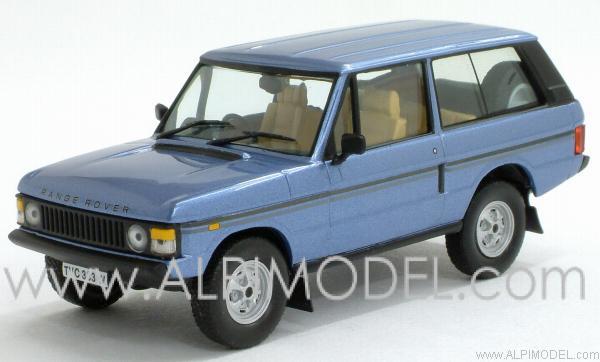Ixo Models Range Rover Vogue 1980 Metallic Blue 1 43