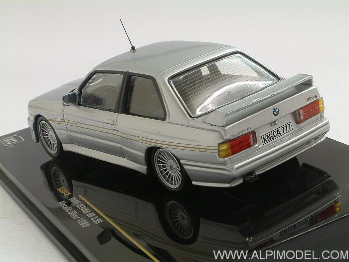 Bmw Alpina B6 >> ixo-models BMW Alpina B6 3.5S 1989 (Silver) (1/43 scale model)