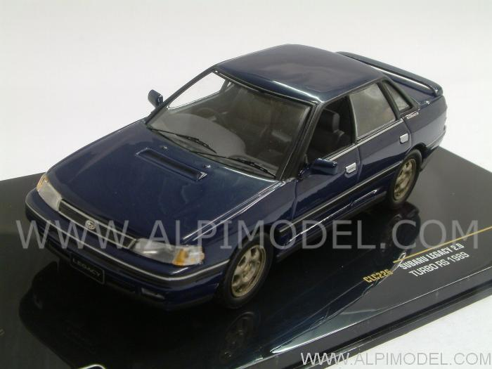 IXO MODELS Subaru Legacy 2.0 Turbo RS 1989 (Blue) (1/43 scale model)