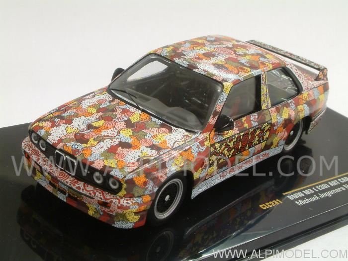 Ixo Models Bmw M3 E30 Art Car Michael Jagamara Nelson 1