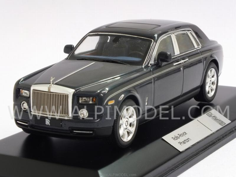 Rolls Royce Models >> ixo-models Rolls Royce Phantom 2008 (Gun Bluegrey) (1/43 scale model)
