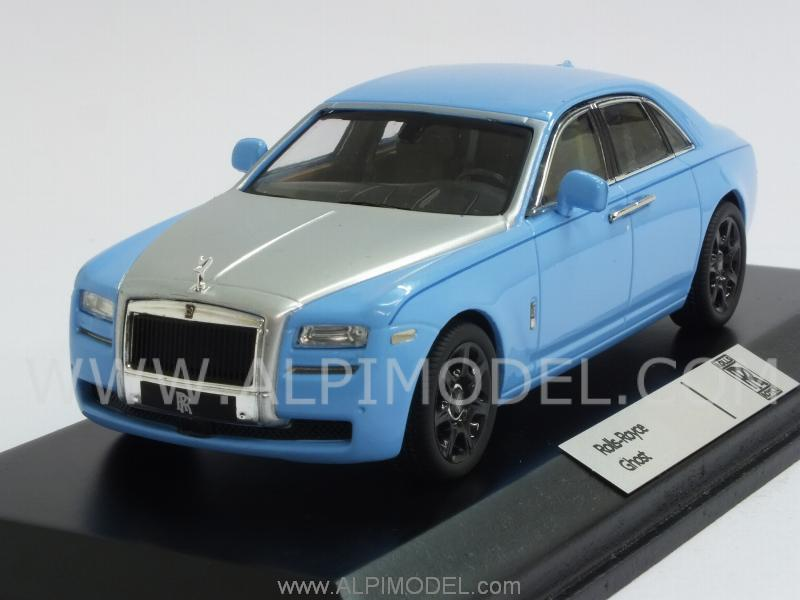 Rolls Royce Models >> ixo-models Rolls Royce Ghost 2010 (Light Blue/Silver) (1/43 scale model)