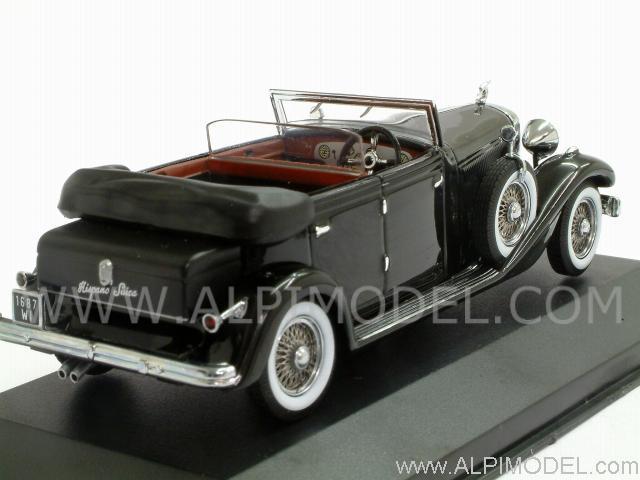 Ixo models hispano suiza h6c 1934 black 1 43 scale model for Hispano international decor llc