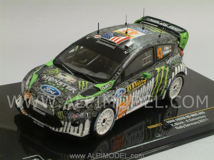 ixo-models Ford Fiesta RS WRC #N43 Rally Germany 2011 Ken ...