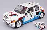 Peugeot 205 T16 #2 Winner Rally Monte Carlo 1985 Vatanen - Harryman by IXO MODELS