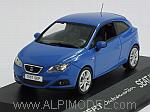 Seat Ibiza SC Coupe (Metallic Blue) by IXO MODELS