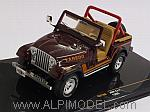 Jeep CJ-7 1995 (Dark Brown) by IXO
