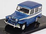 Jeep Willys Station Wagon 1960 (Metallic Blue) by IXO MODELS