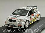 Citroen C2 S1600 #0 Rally Chablais 2009 Loeb by IXO MODELS