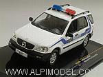 Mercedes ML320 Police Alabama 2003 by IXO MODELS