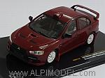 Mitsubishi Lancer Evo X Group N WRC Rally Edition 2007 (Red) by IXO MODELS