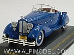 Packard V12 Le Baron Speedster 1934 (Blue) by IXO MODELS