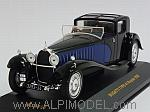 Bugatti Type 41 Royale 1928 (Black/Blue) by IXO MODELS