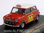 BMC Mini Cooper S #177 Winner Rally Monte Carlo 1967 Aaltonen - Liddon by IXO MODELS