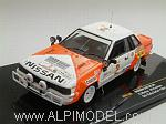 Nissan 240 RS #2 Rally Safari 1984 Mehta - Combes by IXO MODELS