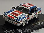 Nissan 240 RS #9 Rally Safari 1984 Salonen - Harjanne by IXO MODELS