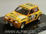 Renault 5 Turbo #47 Rally Monte Carlo 1982 Rouby - Giron by IXO MODELS