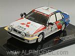 Mitsubishi Galant N.7 Winner Ivory Coast 1991 Meadows -Shinozuka by IXO MODELS