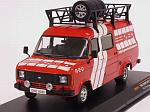Ford Transit MkII 1985 Rally Assistance R-E-D by IXO MODELS